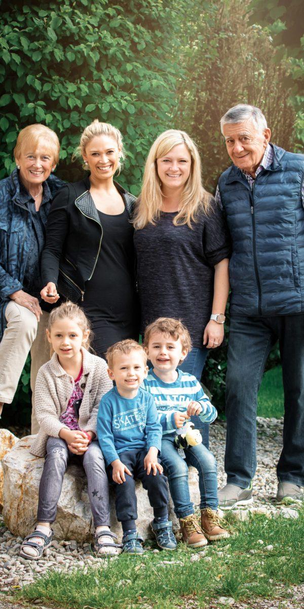 Familienbilder Omi